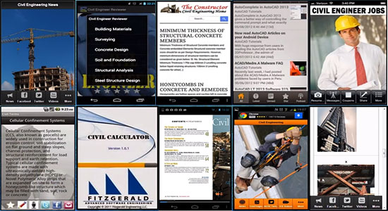 Top 10 Android Apps For Civil Engineers - 2016