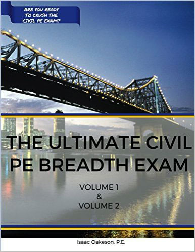 Kindle Edition of The Ultimate Civil PE Breadth Exam