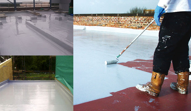 Types and benefits of Liquid roofing