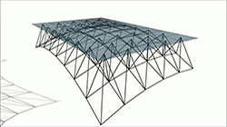 Space frame truss