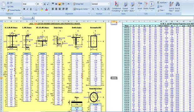 Download Various Kinds of Concrete Spreadsheets