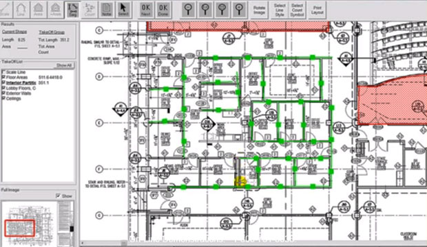 PDF Takeoff for All Building Trades useful for Construction Estimator