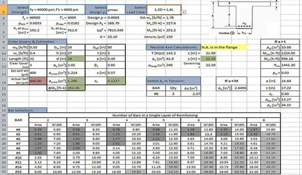 Bar Bending Schedule For Beam Excel